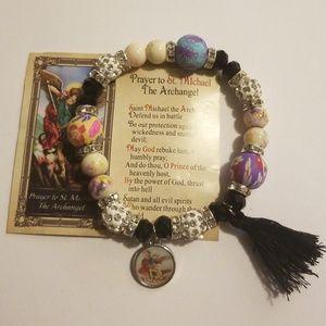 prayer bracelet saint michael